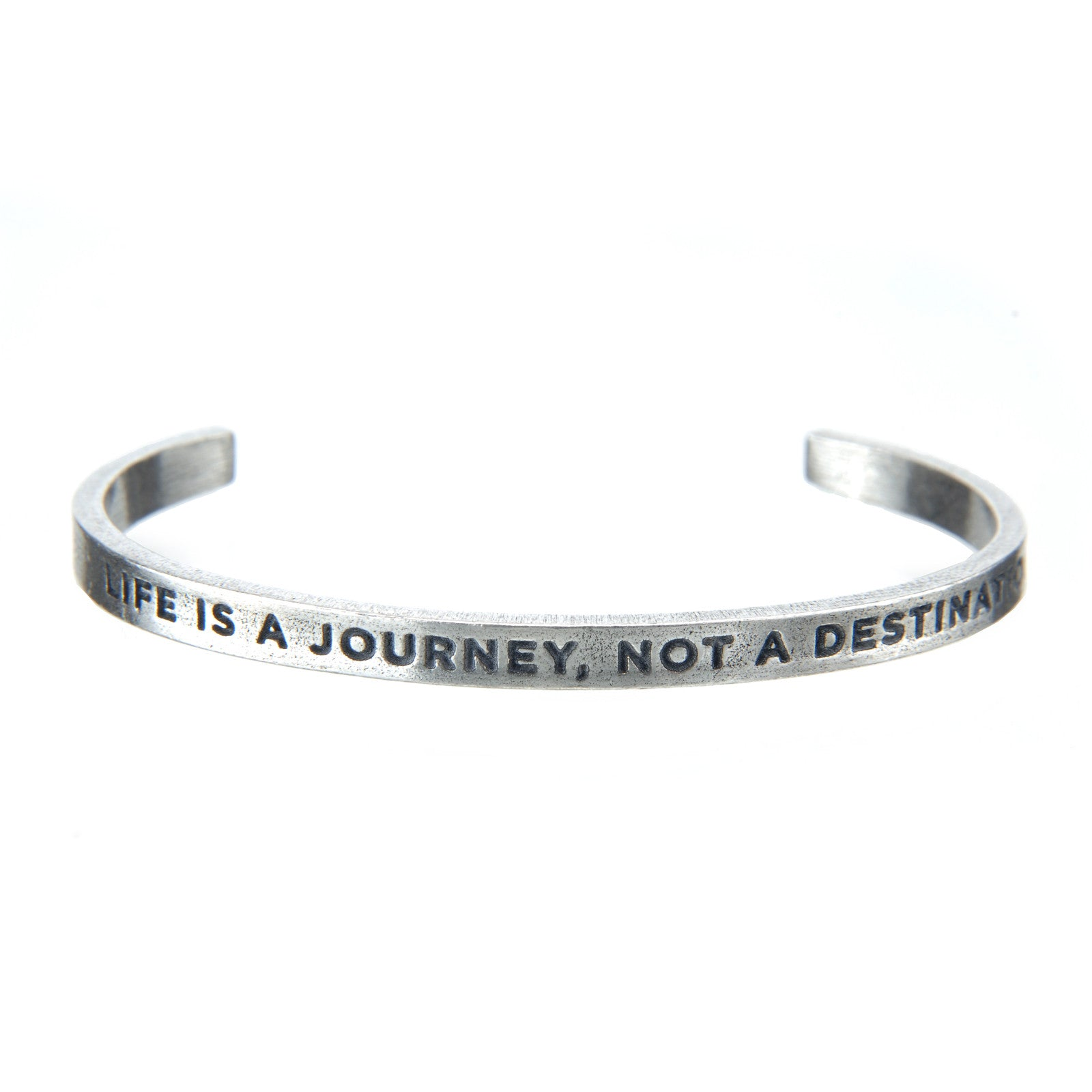 Life Is A Journey Quotable Cuff Bracelet - Whitney Howard Designs