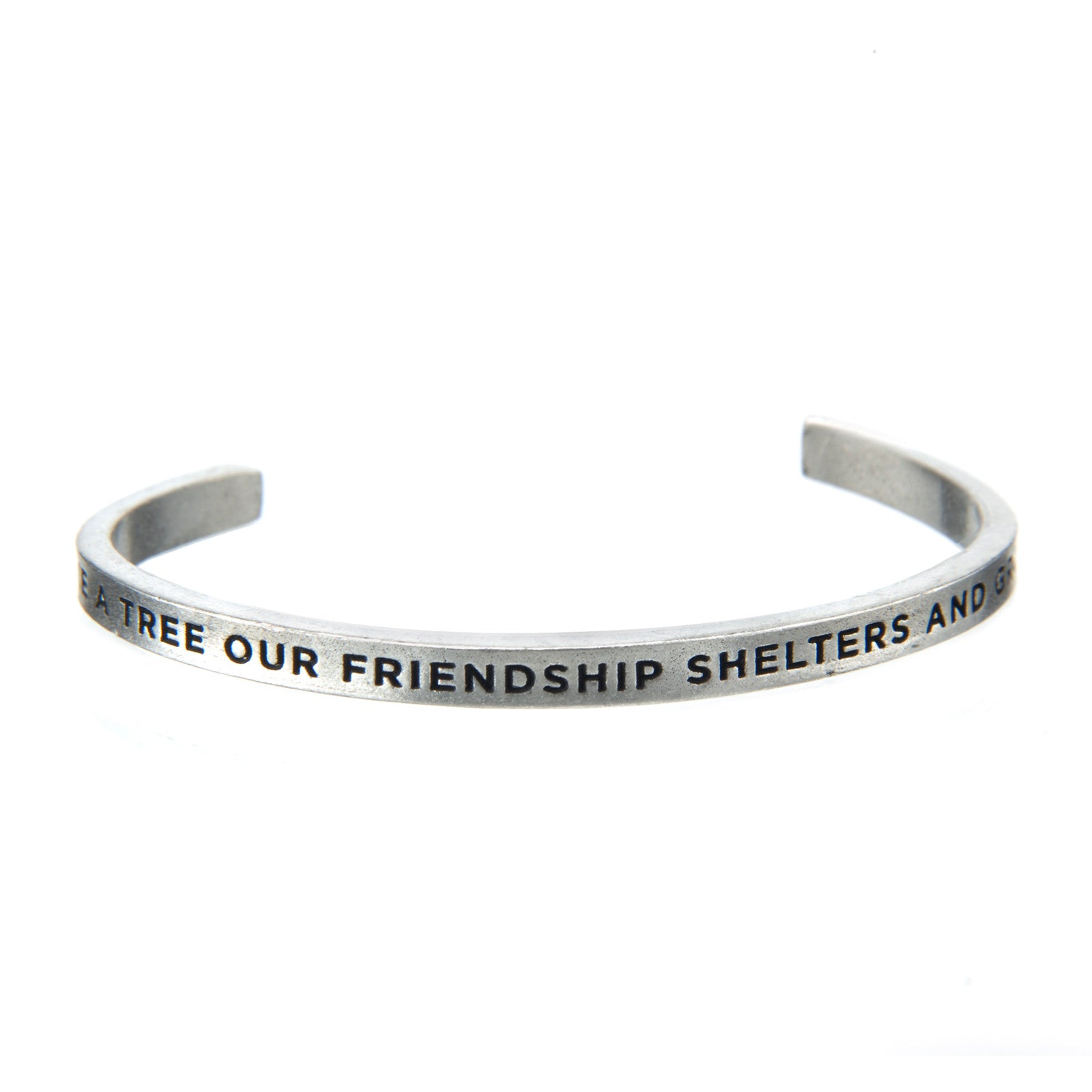 Our Friendship Grows Quotable Cuff Bracelet - Whitney Howard Designs