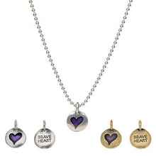 Brave Heart - Hearts of Gold Necklace