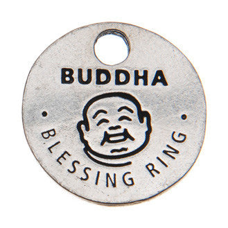 Buddha Blessing Ring (on back - little lucky Buddha) - Whitney Howard Designs