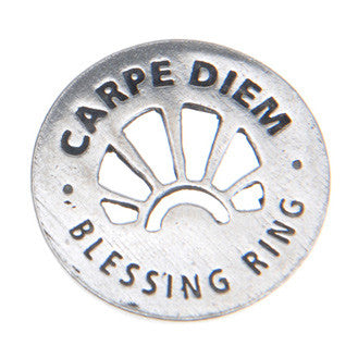 Carpe Diem Blessing Ring (on back - sieze the day) - Whitney Howard Designs
