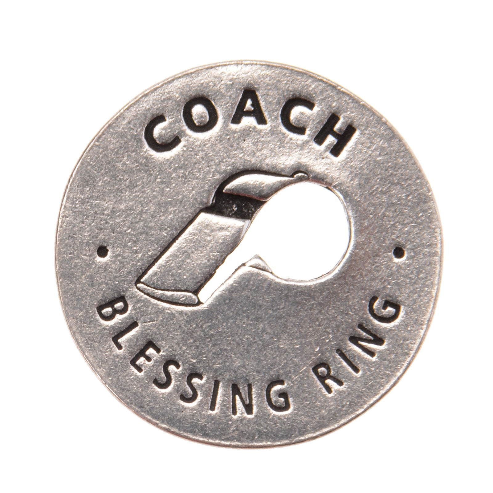 Coach Blessing Ring (on back - motivates, inspires, encourages) - Whitney Howard Designs