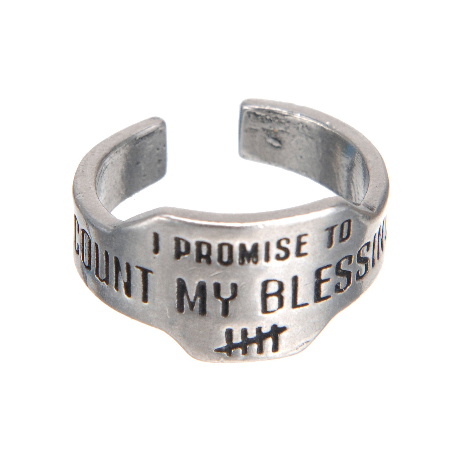 Count My Blessings Promise Ring - Whitney Howard Designs