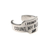 Count My Blessings Promise Ring