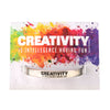 Creativity is Intelligence Having Fun Quotable Cuff Bracelet