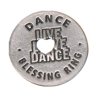 Dance Blessing Ring (on back - express yourself) - Whitney Howard Designs