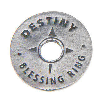 Destiny Blessing Ring (on back - believe, create, explore) - Whitney Howard Designs