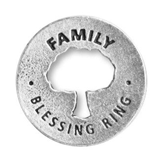 Family Blessing Ring (on back - near or apart always in the heart) - Whitney Howard Designs