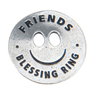 Friends Blessing Ring (on back - you make me smile) - Whitney Howard Designs