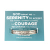 Serenity Quotable Cuff Bracelet - Whitney Howard Designs
