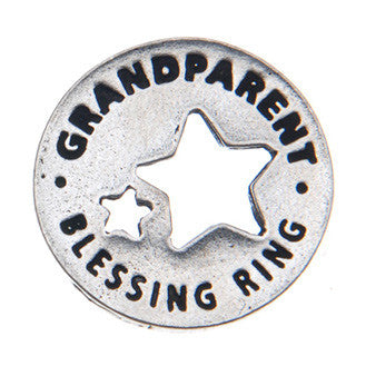 Grandparents Blessing Ring (on back - making the world a special place) - Whitney Howard Designs