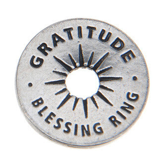 Gratitude Blessing Ring (on back - with thanks and appreciation) - Whitney Howard Designs