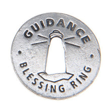 Guidance Blessing Ring (on back - lighting your way) - Whitney Howard Designs