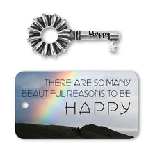 Happy Key Charm