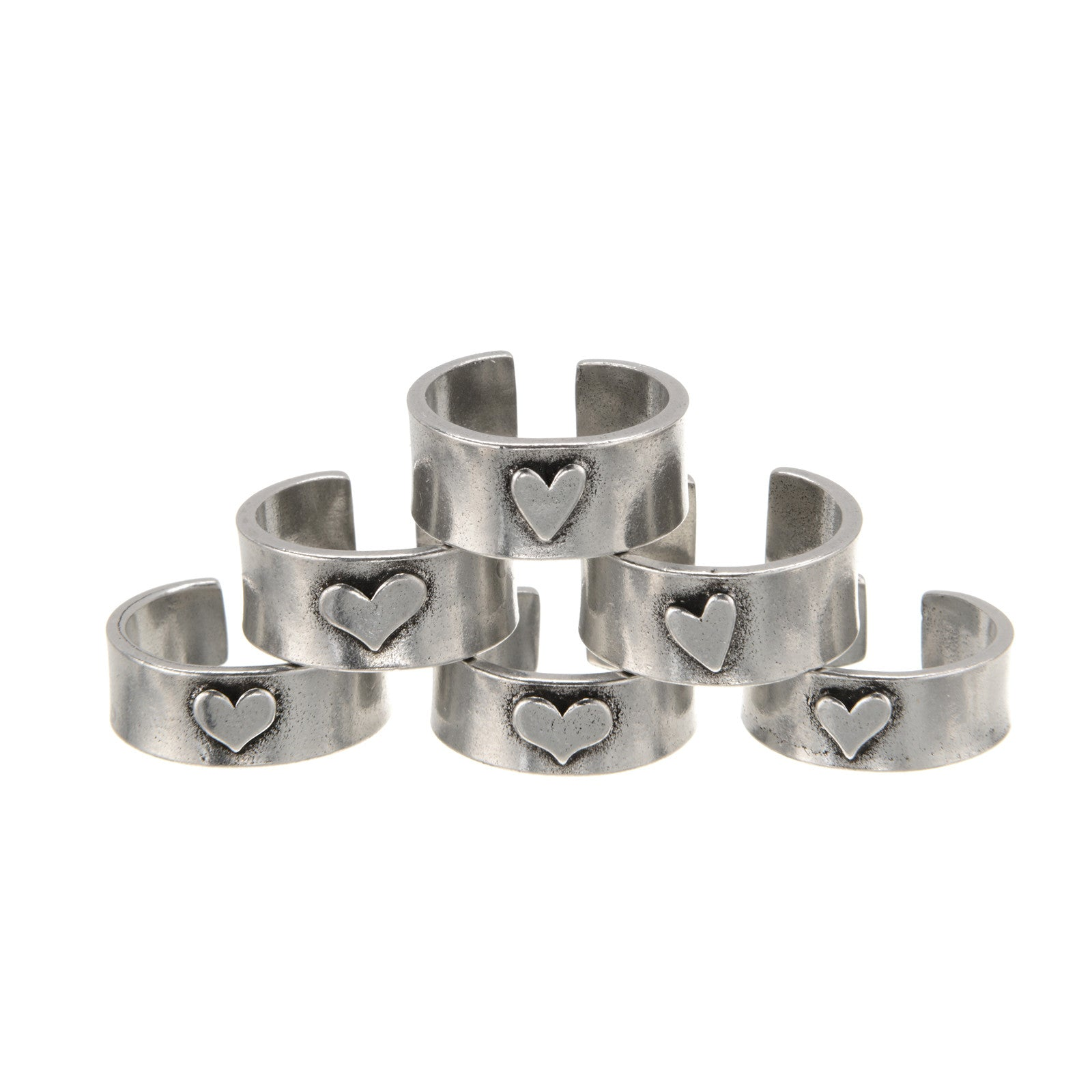 Peaceful Heart Ring - Whitney Howard Designs