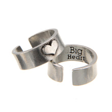 """Hearts of Gold"" BIG HEART Ring"