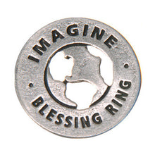 Imagine Blessing Ring (on back - all the people sharing the world) - Whitney Howard Designs