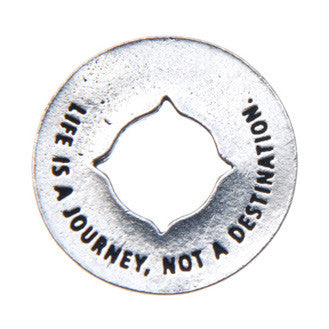 Journey Blessing Ring (on back - life is a journey, not a destination) - Whitney Howard Designs