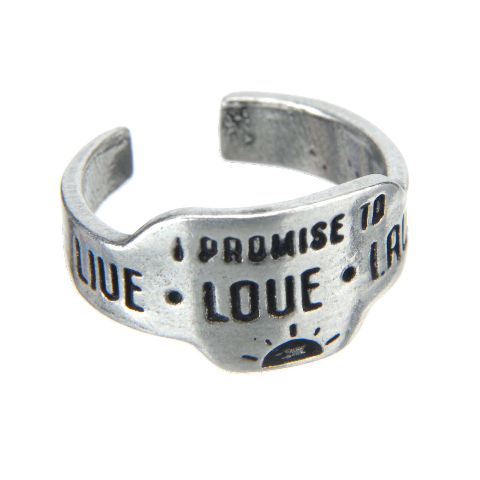 Live Love Laugh Promise Ring - Whitney Howard Designs