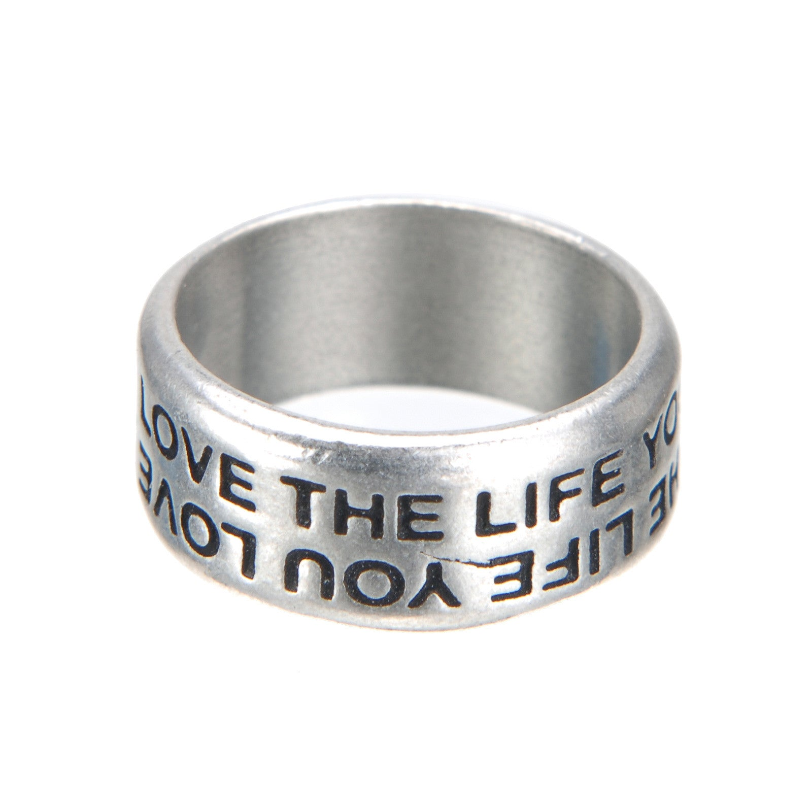 Live The Life You Love Promise Ring - Whitney Howard Designs