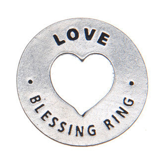 Love Blessing Ring (on back - always in my heart) - Whitney Howard Designs