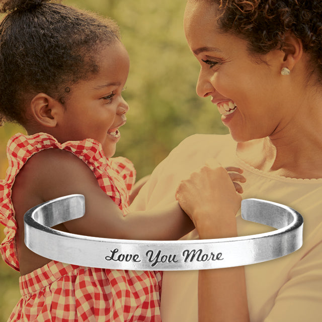 Love You More Quotable Cuff - Whitney Howard Designs