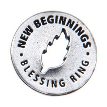 New Beginnings Blessing Ring (on back - trust and believe) - Whitney Howard Designs