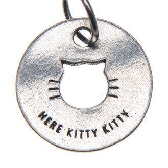 Nice Kitty Blessing Ring (on back - here kitty kitty) - Whitney Howard Designs