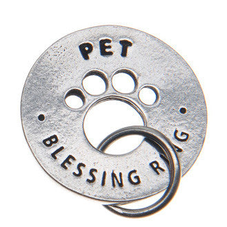 Pet Blessing Ring (on back - protect my pet) - Whitney Howard Designs