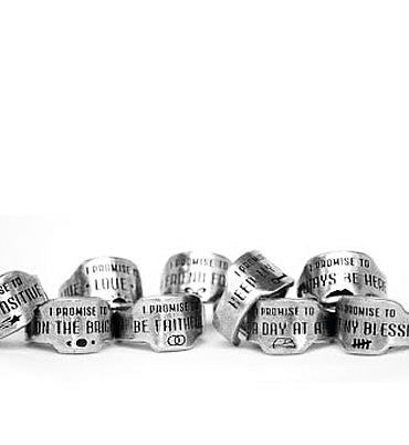 Keep My Word Promise Ring - Whitney Howard Designs