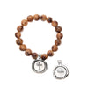 Acai Seeds of Life Bracelet with Wax Seal - Tiger Natural