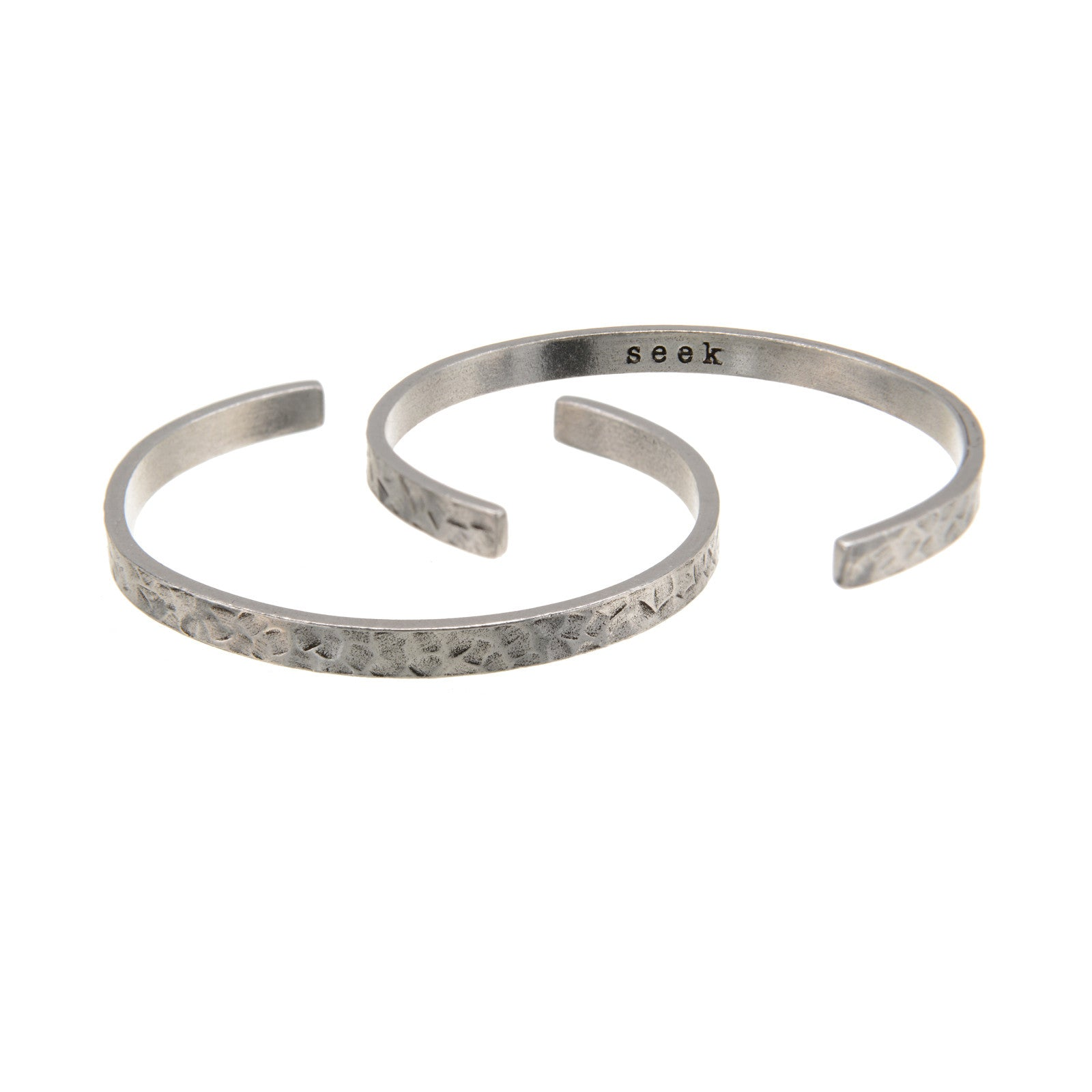 Seek DUDE Cuff Bracelet - Whitney Howard Designs