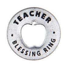 Teacher Blessing Ring (on back - to teach is to touch a life forever) - Whitney Howard Designs