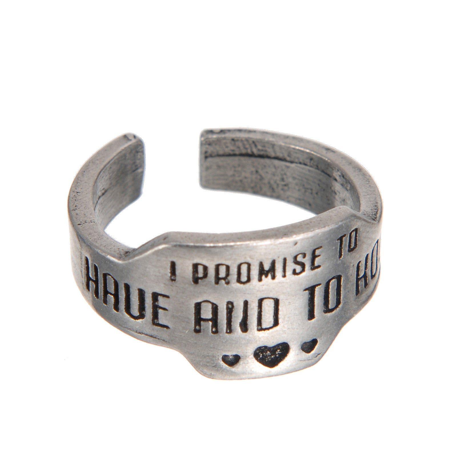 To Have And To Hold Promise Ring - Whitney Howard Designs