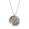 Tree of Life Medallion on Ball Chain Necklace - Whitney Howard Designs
