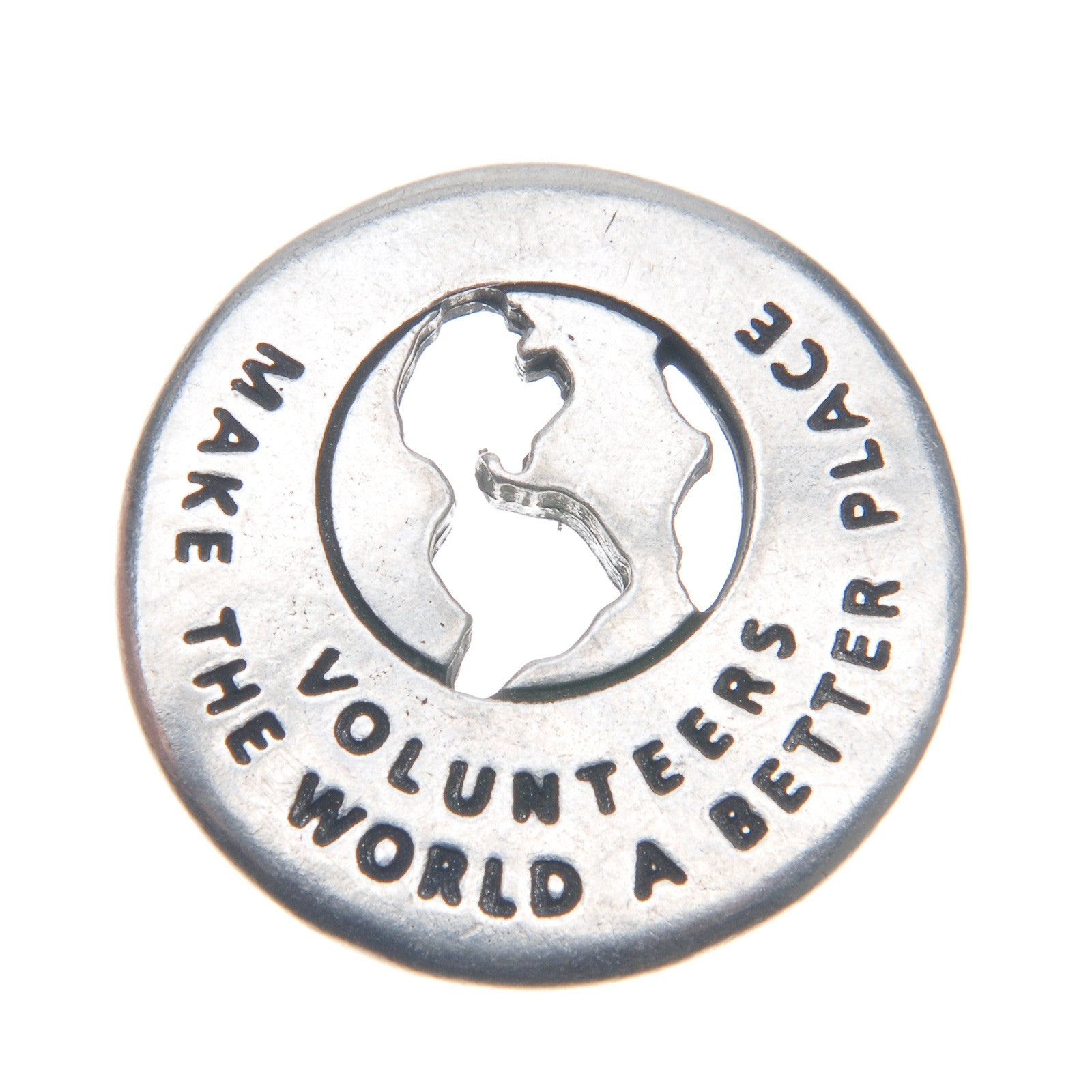 Volunteers Make The World A Better Place Volunteer Ring - Whitney Howard Designs