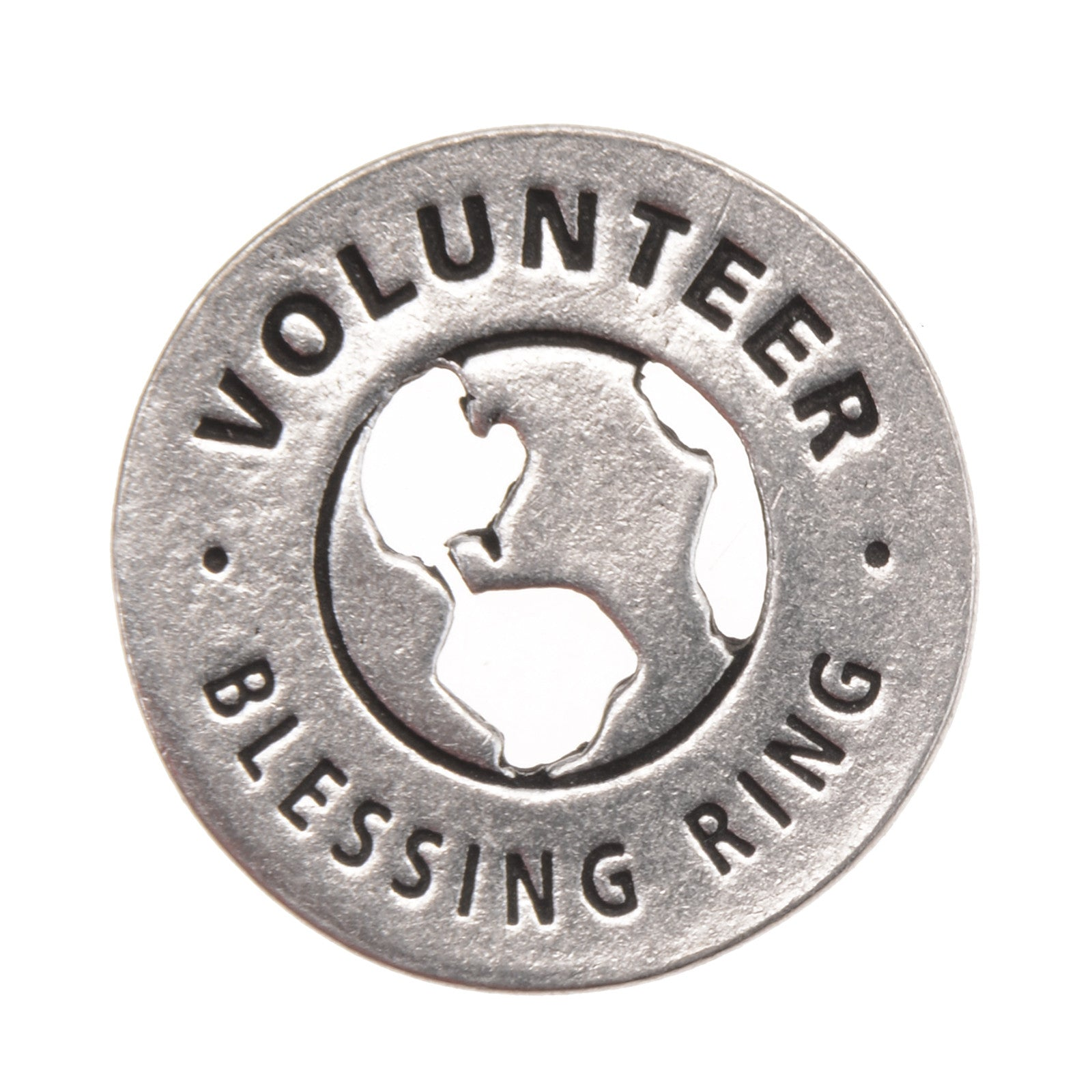 Volunteer Blessing Ring (on back - volunteers make the world a better place) - Whitney Howard Designs