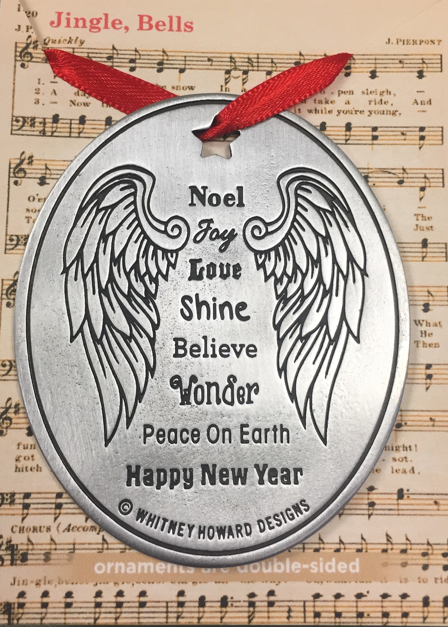 Angel Ornament - Whitney Howard Designs