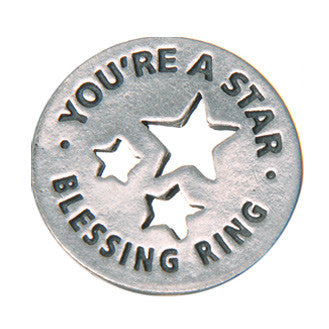 You're A Star Blessing Ring - Whitney Howard Designs