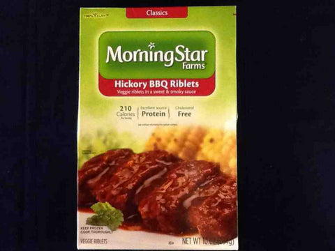 Morning Star Farm Hickory Bbq Riblets All Natural Ingredients