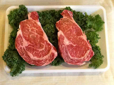 30 Days Dry Aged Beef Rib Eye Steak