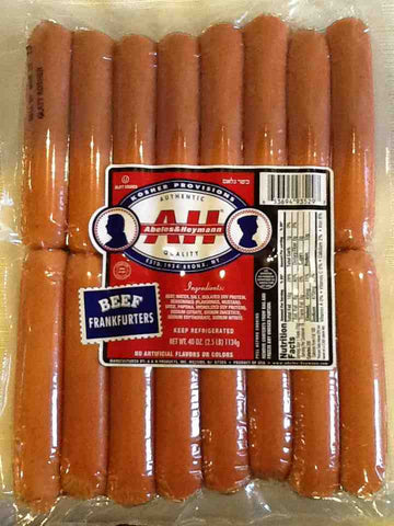A&H Beef Franfurters Family Pack
