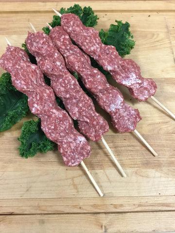 Plain Beef Kebab (Ground Beef)