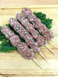 Seasoned Beef Kebab Onion & Parsly (Ground Beef)