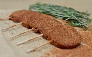 BBQ Rub Lollipop Steaks