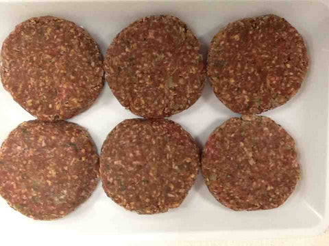 Seasoned Beef Burger