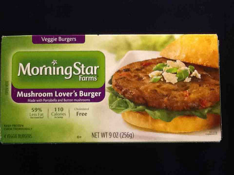Morning Star Farm Mushroom Lover Burger