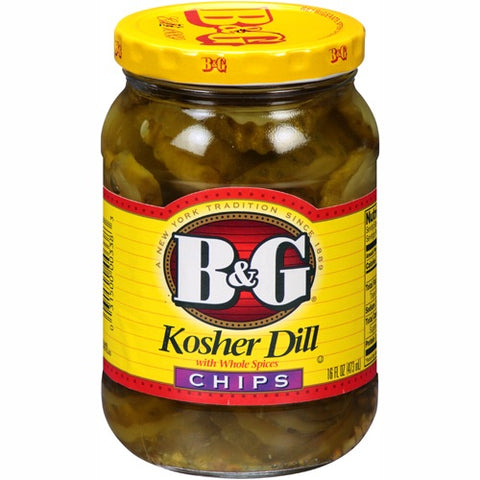 B&G Kosher Dill Chips