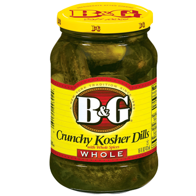B&G Crunchy Kosher Dill Pickles