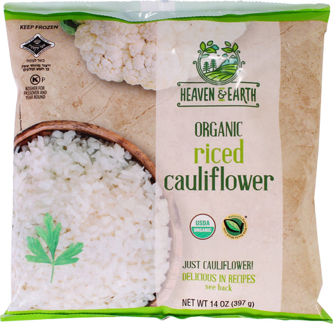 Heaven & Earth Organic Riced Cauliflower